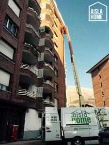 Aislamiento de bloque de pisos en Azpeitia (Gipuzkoa) (2)