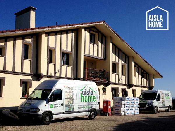 Aislamiento de fachadas en casa rural aia gipuzkoa - Comparativa aislantes termicos ...
