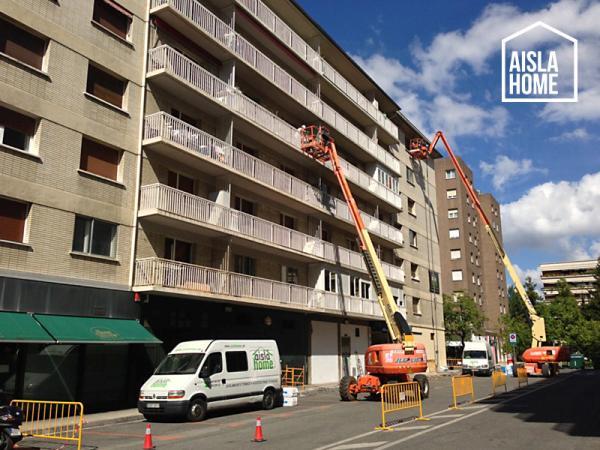Aislamiento exterior de viviendas en san juan pamplona - Comparativa aislantes termicos ...