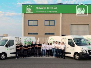 Equipo de AISLAHOME para Navarra, Euskadi y Madrid
