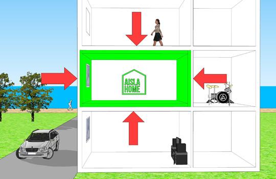 Aislamiento ac stico mejora el confort en tu vivienda - Aislamiento vivienda ...