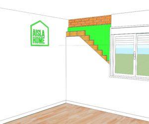 aislamiento termico de paredes