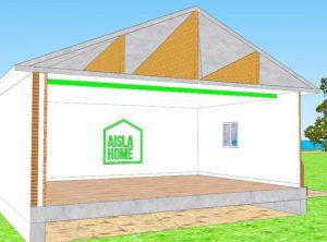 aislamiento térmico de techos