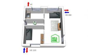 instalar unidades de ventilación eficiente