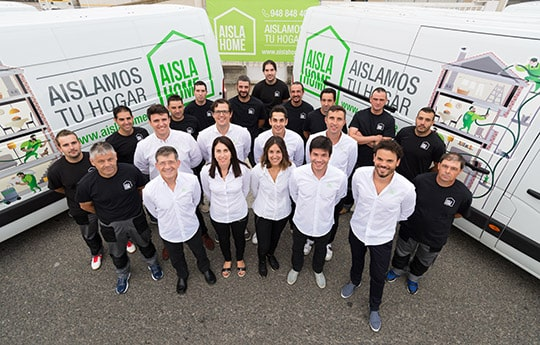 AISLAHOME: Equipo humano para Navarra, Euskadi y Madrid
