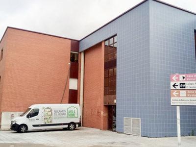 Aislamiento Colegio Zizur Mayor (Navarra)