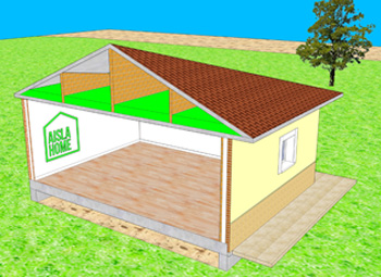 Aislamiento térmico viviendas cubiertas