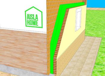Aislamiento térmico viviendas fachadas