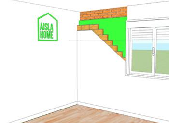 Aislamiento térmico viviendas paredes