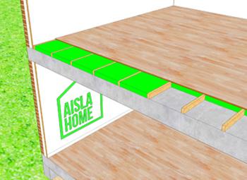 Aislamiento térmico viviendas suelos